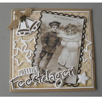 Vintage, Nostalgia und Shabby Shic VINTAGE CARD TOPPERS
