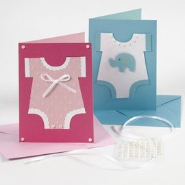 KARTEN und Zubehör / Cards Notatkort, størrelse 10,5x15 cm, pink / pink, 10 stk