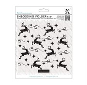 Docrafts / X-Cut Embossing map, rendier