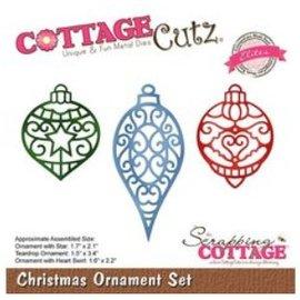 Cottage Cutz Poinçonnage, pochoir, noël, ornement