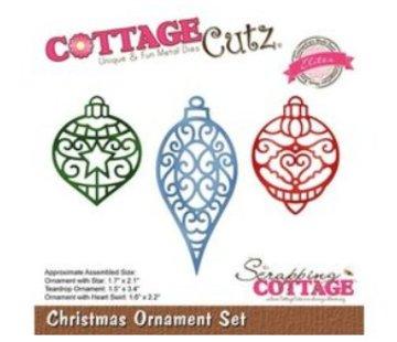 Cottage Cutz Stanzschablonen, Weihnachten, Ornament Set