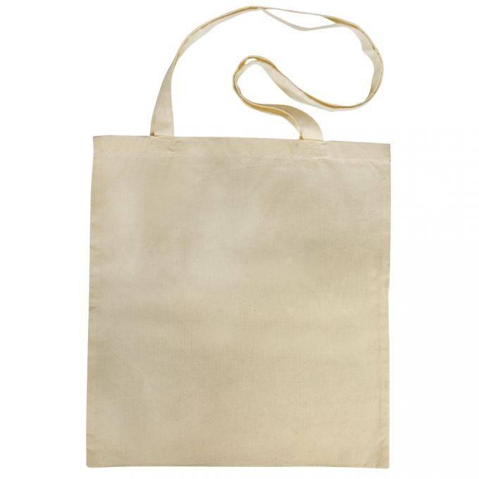 fd0f9219cb131 Textil Baumwoll-Tasche mit langen Henkeln