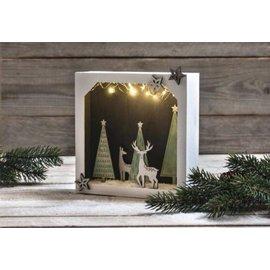 Holz, MDF, Pappe, Objekten zum Dekorieren Tinker decorazioni natalizie