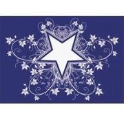 Pronty Skabelon: Star og Co. A4, 1 stencil + squeegee