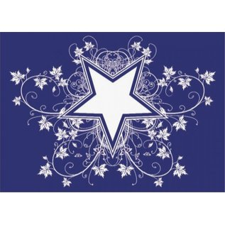 Pronty Mal: Star og Co A4, 1 stencil + squeegee