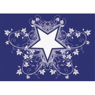 Pronty Sjabloon: Star and Co. A4, 1 stencil + wisser