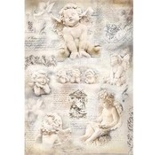 DECOUPAGE AND ACCESSOIRES Silkpaper Angels, 47 x 35cm