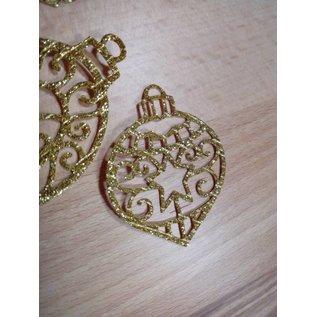 Cottage Cutz Punching Stencils, jul, ornament sett