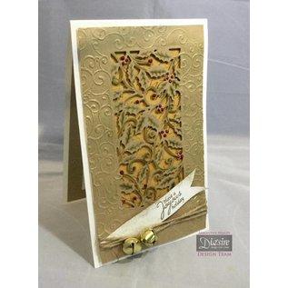 Crafter's Companion Plantillas de punzonado, navidad