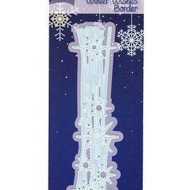 Marianne Design Stanzschablonen, Winter Wishes Border