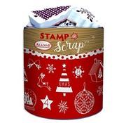 ALADINE 26 Foam Stempels  + Inkpad, Weihnachtsmotiven