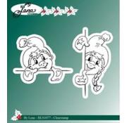 Stempel / Stamp: Transparent Transparante stempel: Gnome