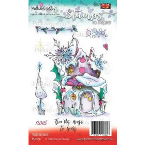 Polkadoodles  Transparent stamp: Snowtime Magic