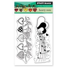 Penny Black Gjennomsiktig stempel