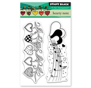 Penny Black Timbro trasparente