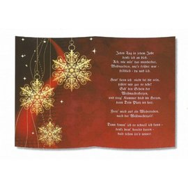 REDDY 1 feuille, avec poème sur papier calque, format A5