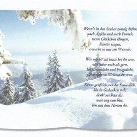 REDDY 1 foglio, con poesia su carta da lucido, formato A5