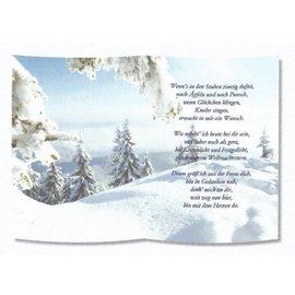 REDDY 1 ark, med digt på sporpapir, A5 format