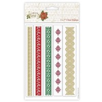 Transparent stamp, Christmas borders
