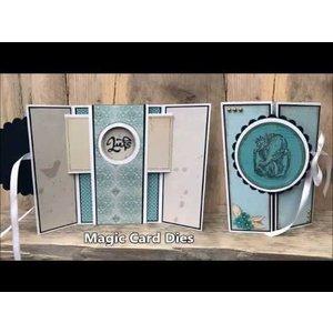 Nellie Snellen Modèles de poinçonnage, Magic Card, ronde