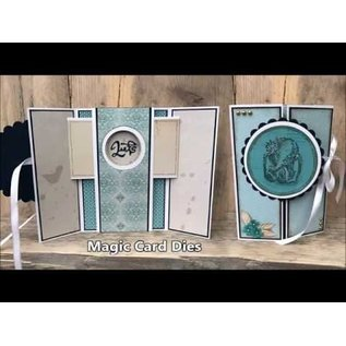 Nellie Snellen Modelli di punzonatura, carta magica, rotonda