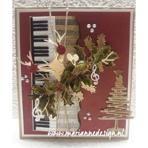 Marianne Design Cutting and embossing die: Piano