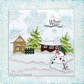 Leane Creatief - Lea'bilities und By Lene Lea'bilitie, stamping and embossing templates, village