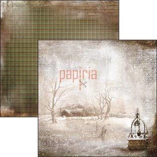 Designer Papier Scrapbooking: 30,5 x 30,5 cm Papier Nuovo! Carta di design, stampata su entrambi i lati, The Sound of Winter