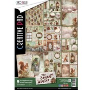 BASTELSETS / CRAFT KITS Progetto di Natale! Scrapbook and Cards Blocco creativo, A4
