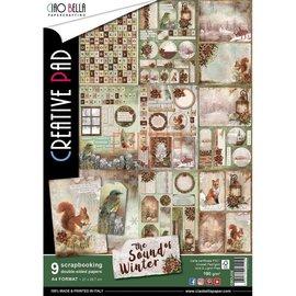 BASTELSETS / CRAFT KITS Bloc créatif pour scrapbooking et cartes, A4