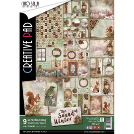 BASTELSETS / CRAFT KITS Scrapbook and Cards Blocco creativo, A4