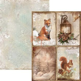 BASTELSETS / CRAFT KITS project Kerstmis! Plakboek en kaarten Creatief blok, A4