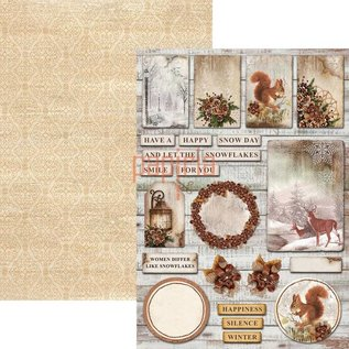 BASTELSETS / CRAFT KITS Weihnachtsaktion! Scrapbook und Karten Kreativ Block, A4