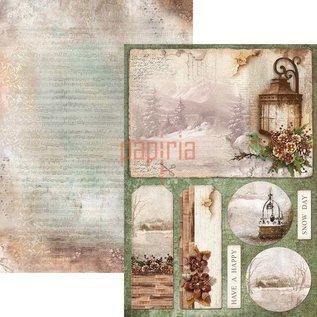 BASTELSETS / CRAFT KITS Projet de Noël! Bloc créatif pour scrapbooking et cartes, A4