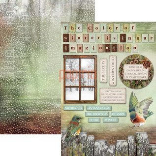 BASTELSETS / CRAFT KITS Jule prosjekt! Utklippsbok og kort Creative Block, A4