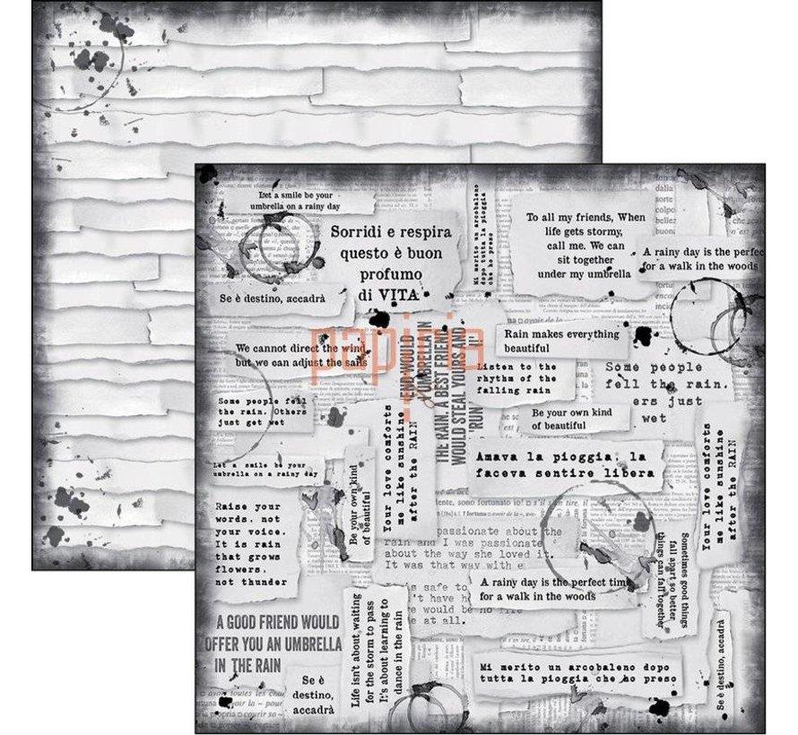 Scrapbooking und Karten Papier, Lovin in the Rain  (produktvideo im Kreativ-Blog rechts oben)