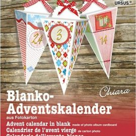 BASTELSETS / CRAFT KITS Crea decorazioni natalizie: kit completo per un calendario dell'avvento