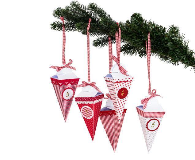 bastelsets craft kits make christmas decorations complete craft kit for an advent calendar