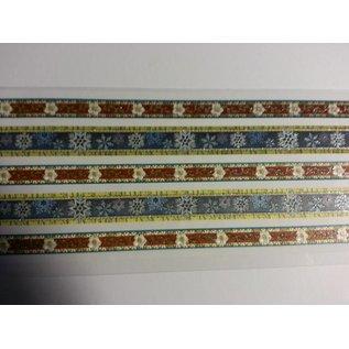 Embellishments / Verzierungen Sticker glitter stoffen randen zelfklevend