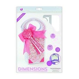 Tonic Studio´s Snijsjabloon: decoratieve geschenkdoos