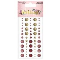 60 glitter adhesive beads