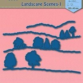 AMY DESIGN Cutting dies,  Landscape