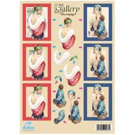Vintage, Nostalgia und Shabby Shic Dufex, feuille perforée métallique A4