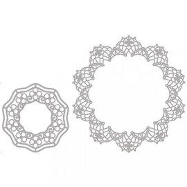 Spellbinders und Rayher Plantillas de corte, 2 tapetes de filigrana