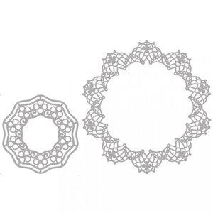 Spellbinders und Rayher Matrices de découpe, 2  Dolies filigrane!