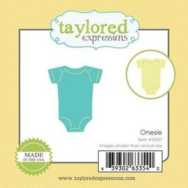 Taylored Expressions Plantilla punzón, cuerpo bebé