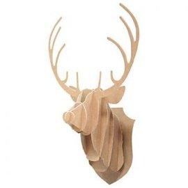 Docrafts / X-Cut Plantillas de punzonado, cabeza de reno.