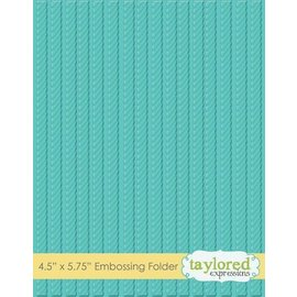 Taylored Expressions 1 embossing folder