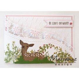 Marianne Design Plantillas de punzonado, reno bebé.