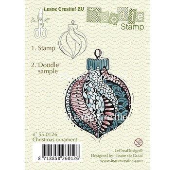 Leane Creatief - Lea'bilities und By Lene Transparent stamp, doodle christmas ornament